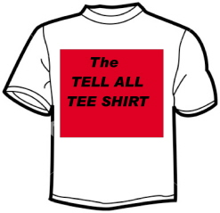 Tell All t-shirt